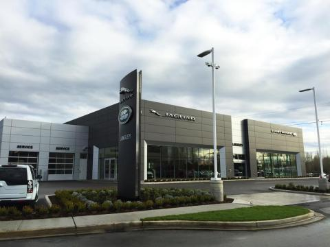 Grand Opening of Jaguar Land Rover Langley